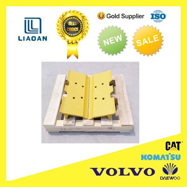 Single Grouser Bullodzer Track Shoe D20, D30, D31, D4c, D50, D60, D75, D80, D85, D155 for Caterpillar Komatsu Bulldozer Part