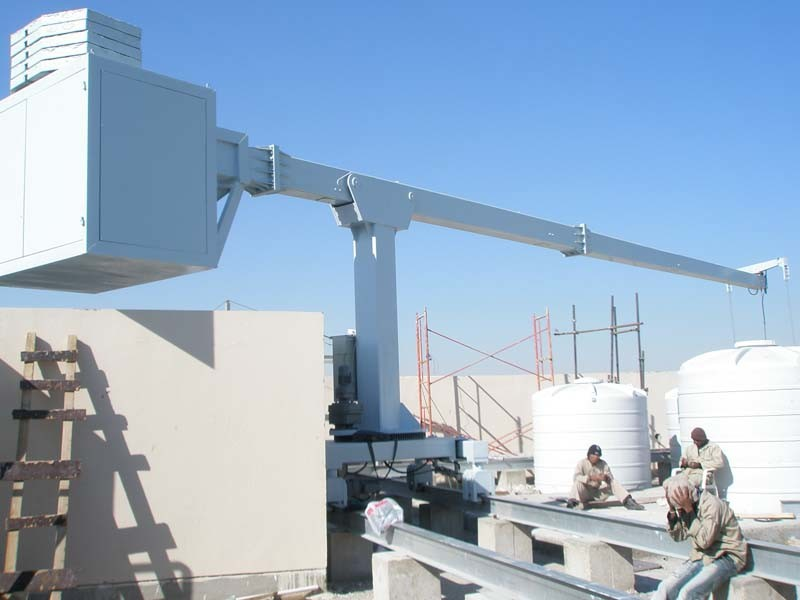 Building Maintenance Units Jib and Mast Bmu