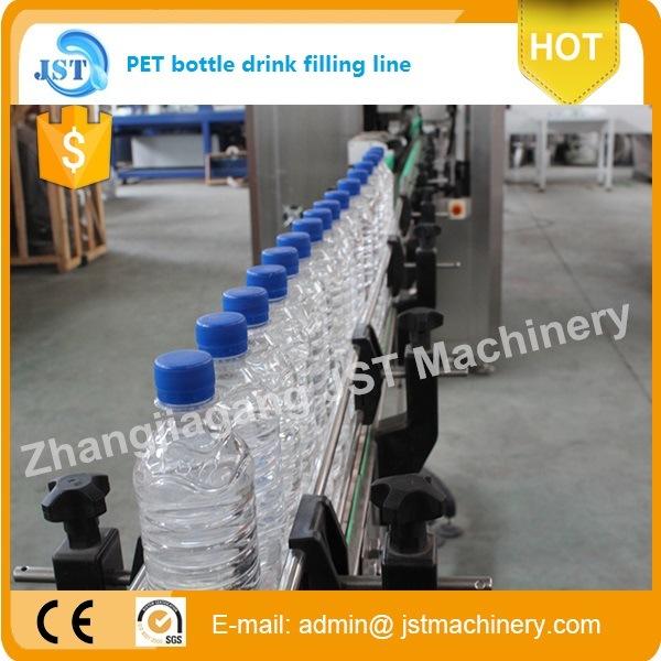 Automatic Aqua Beverage Filling Machine for Plastic Bottle