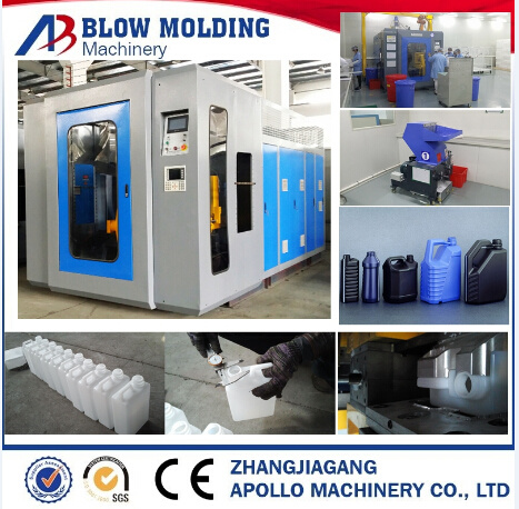 Famous HDPE PP Bottles Gallons Cans Blowing Moulding Machines China