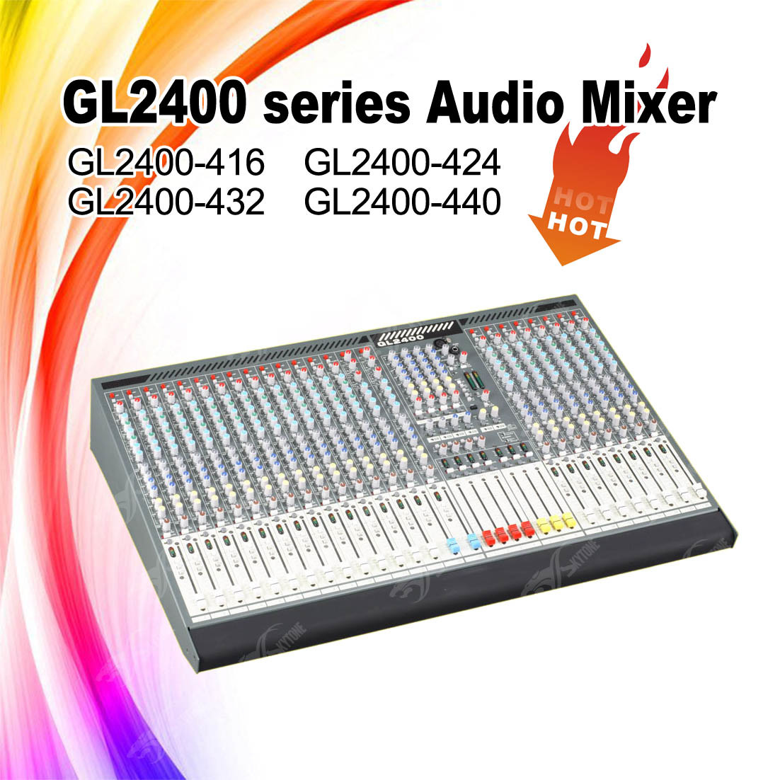 Skytone Produced Mixing Console Gl2400-424 Audio Mixer