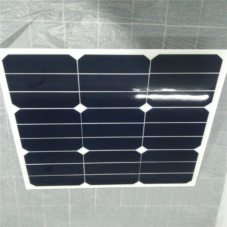 15W/18V 18W/18V 20W/18V Sunpower Flexible Solar Panel