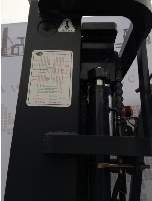Un 3-Wheel 1.8t 1800kg Electric Forklift (FBT18-AZ1)