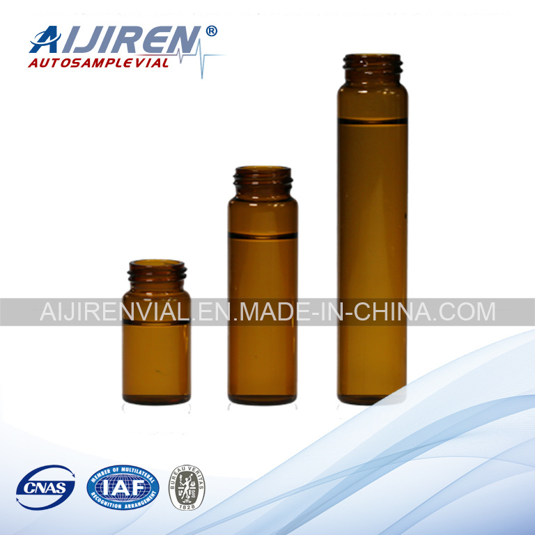 20ml Amber Glass Storage Vial EPA Vial VOA Vial
