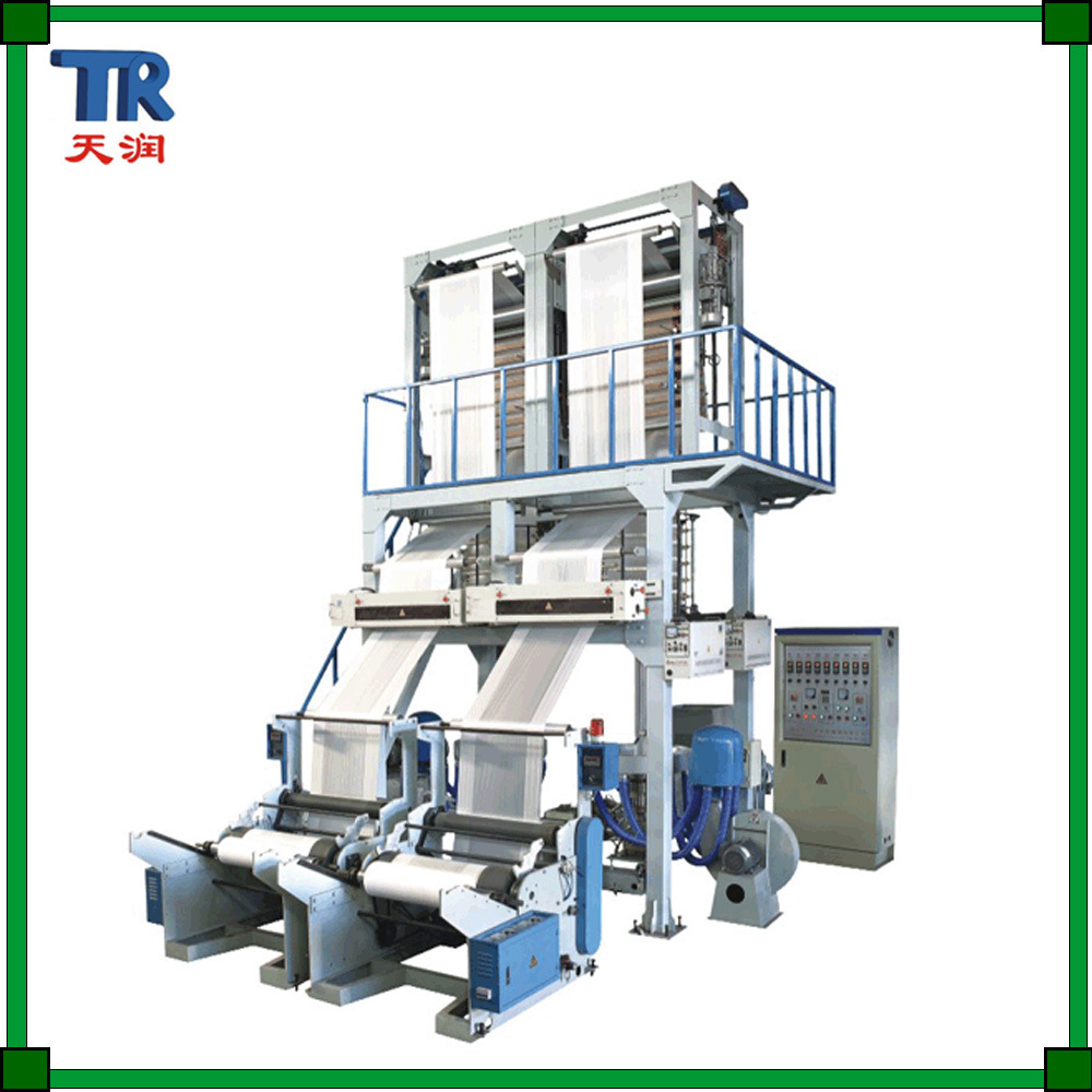 Single-Screw Double-Head Blowing Film Machinery