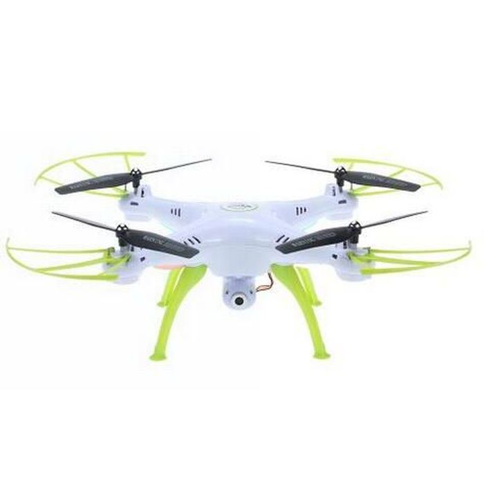 0735hw-WiFi Fpv 2.0MP HD Camera RC Quadcopter with 360 Eversion CF Mode Hover Function