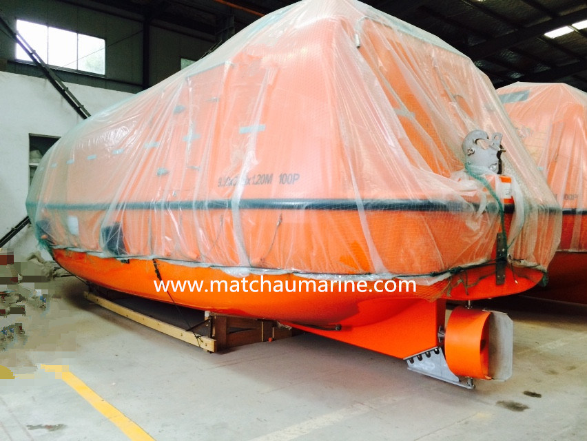 60 Persons Totally Enclosed Motor Propelled Survival Craft