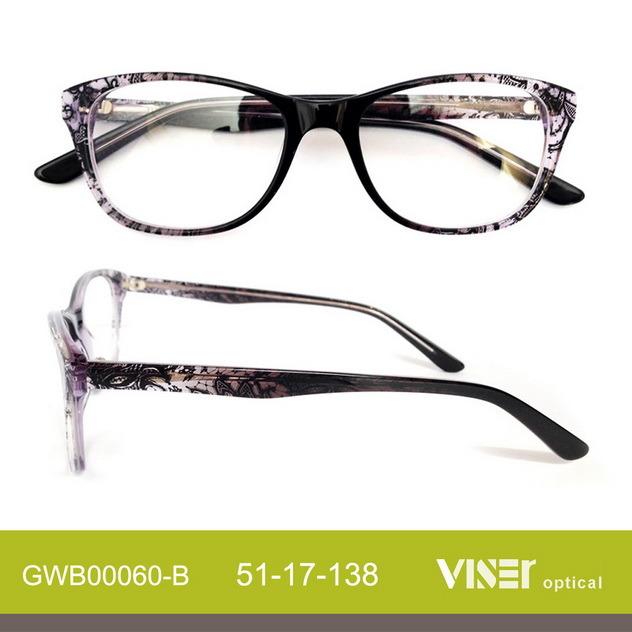 Fashion Acetate Optical Frame Glasses Eyeglasses Spectacles