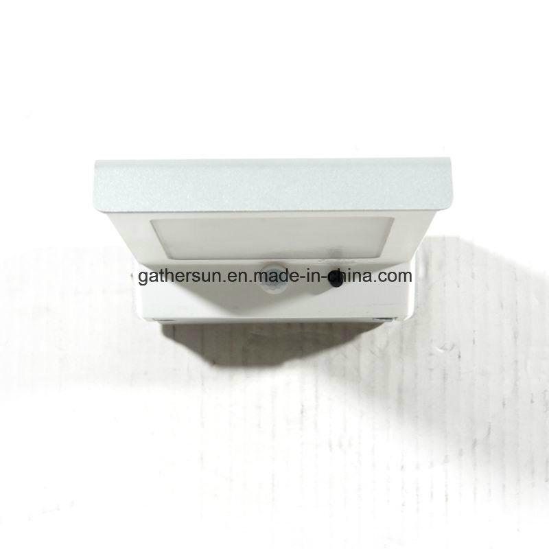 LED Solar PIR Sensor Wall Light Outdoor High Quality IP44 Waterproof Hot Sale