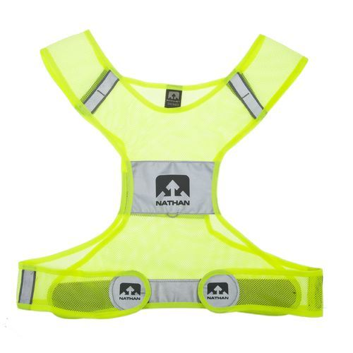 Sports Safety Vest, Made of 100% Polyester Mesh Fabric