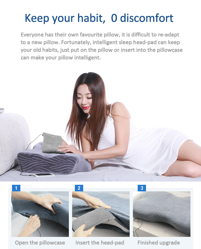 Hypnotist Smart Pillow Help You Sleep