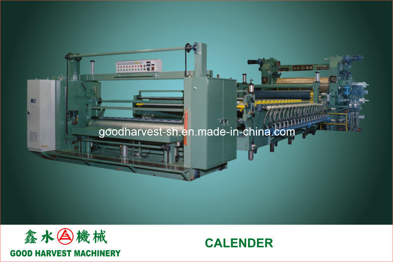 Calender Line for PVC Film