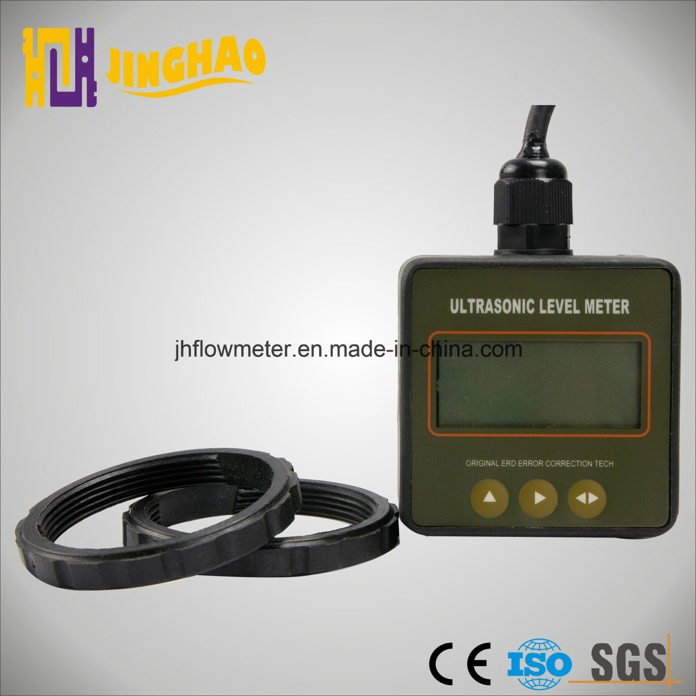 Mini Ultrasonic Liquid Level Meter with LCD Display (JH-ULM-CSA)