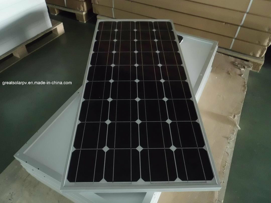 100W Monocrystalline Solar Panel off-Grid Use