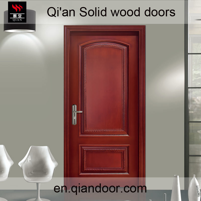 Villa Door Luxury Cheey Solid Wood Door