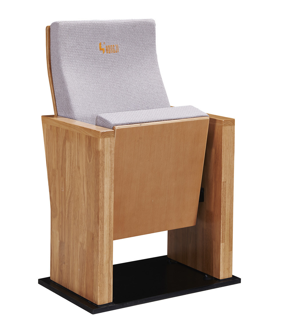 New Design Wood Veneer Auditorium Chair
