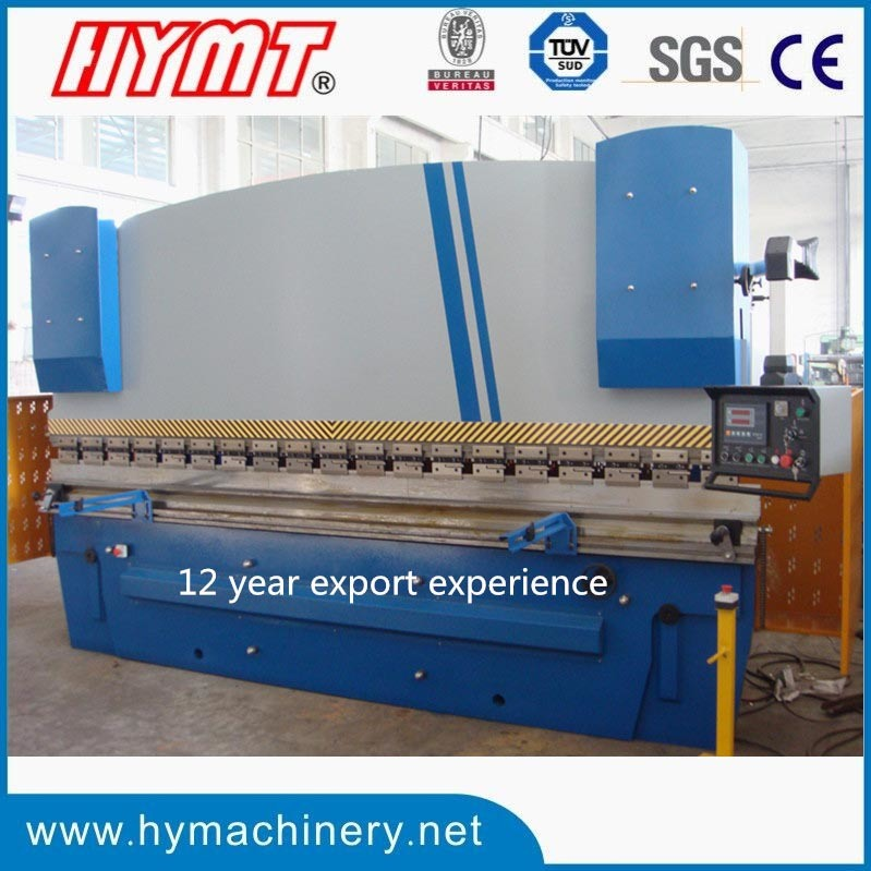 WC67Y-100X4000 hydraulic press brake bending folding forming machine