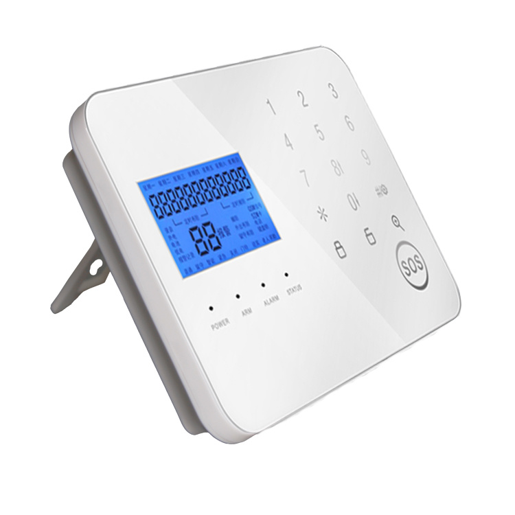 Multi Language Wireless Home GSM Alarm System with Big LCD Display