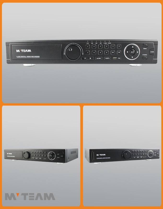 4PCS SATA 1080P Ahd, Tvi, Cvi, Analog Hybrid NVR 16CH (62B16H80P)
