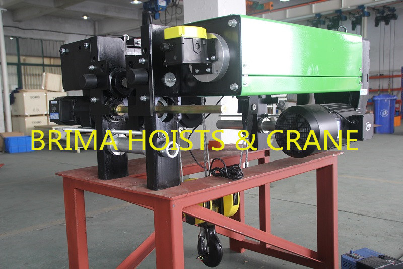 5ton Low Headroom European Electric Wire Rope Hoist