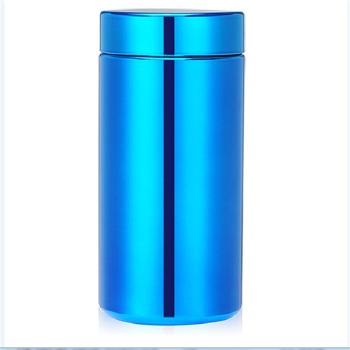 Metalization Customized Silver Plating Sports Plastic Bottle
