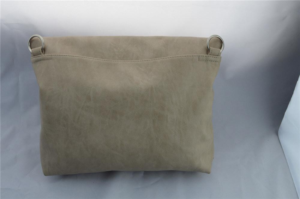 Portable Dual-Purpose Apricot Knapsack Handbag