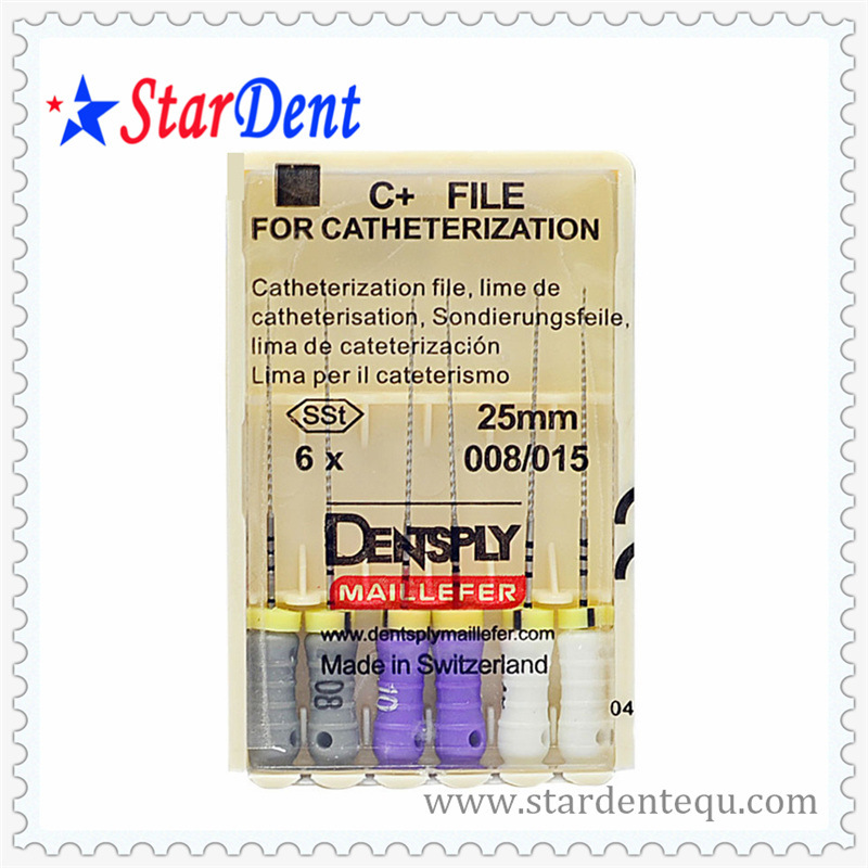 Endodontic Dentsply Maillefer C+ File Product of Dental Equipment Files