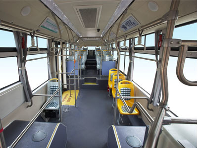 Sunlong Slk6859au6n Natural Gas City Bus