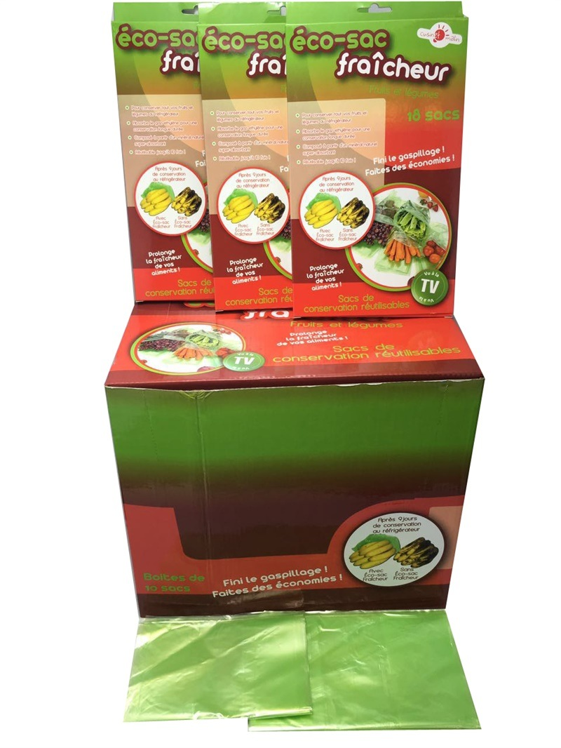 High Quality Green Bag and Fresh Plastic Bags