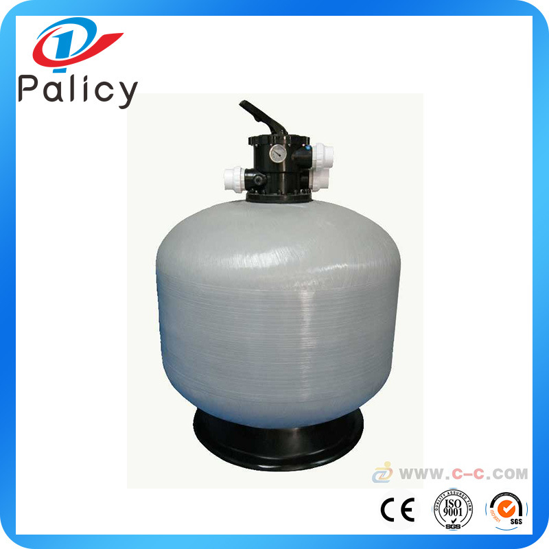 Top Mount Swimming Pool Sand Filter with Multiport Valve