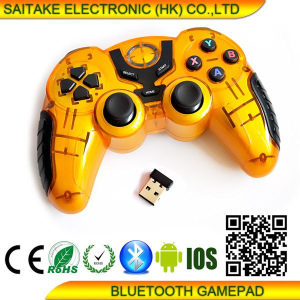 Android Joypad Bluetooth Gamepad for Smartphone TV Tablet and iPad/ iPhone (STK-AD2024L)