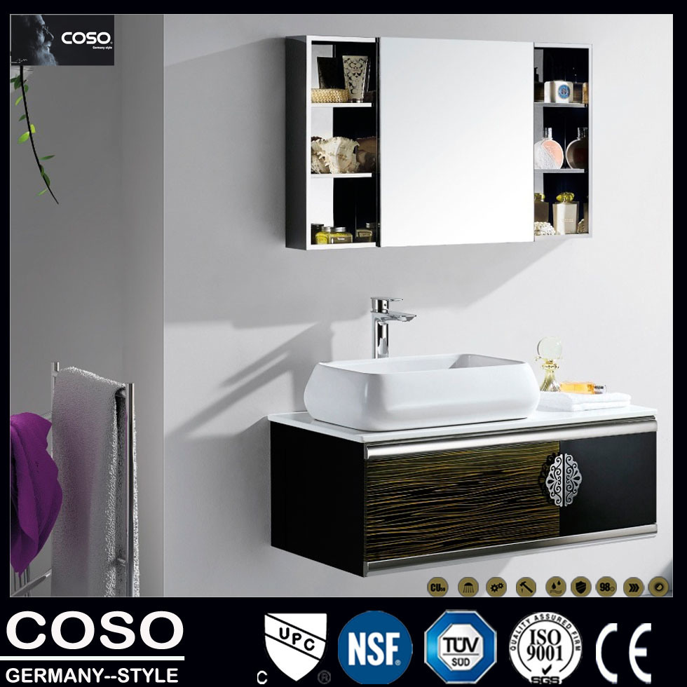 Stainless Steel Bathroom Vanity Cabinet (BV2013-035)