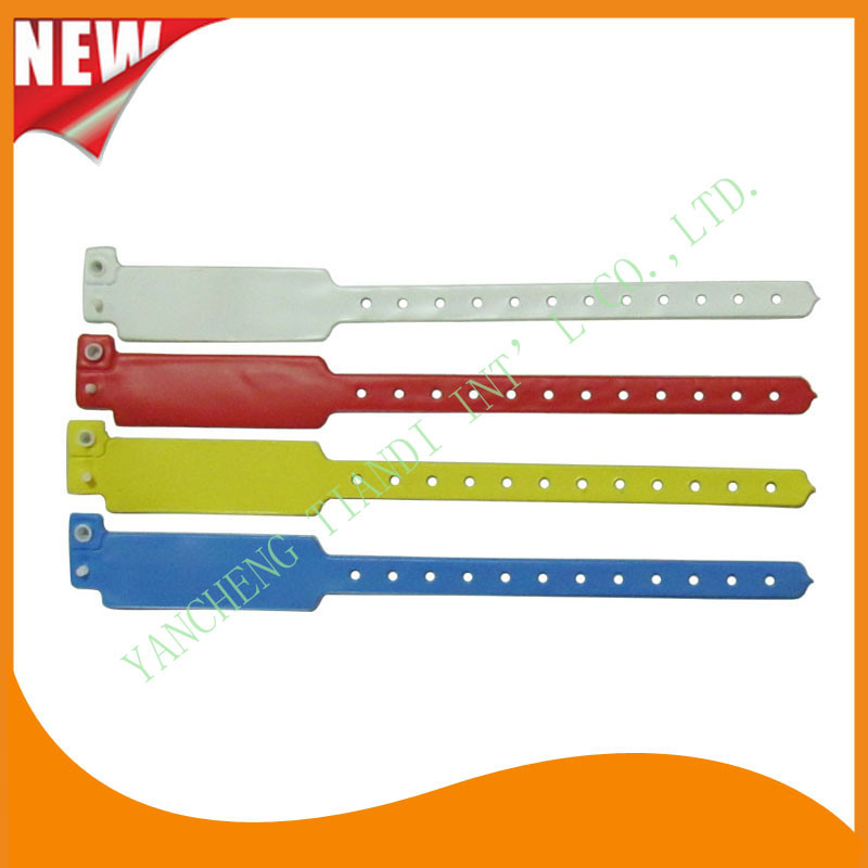 12 Inch Hospital Disposable Plastic Medical Wristband (6040B1)