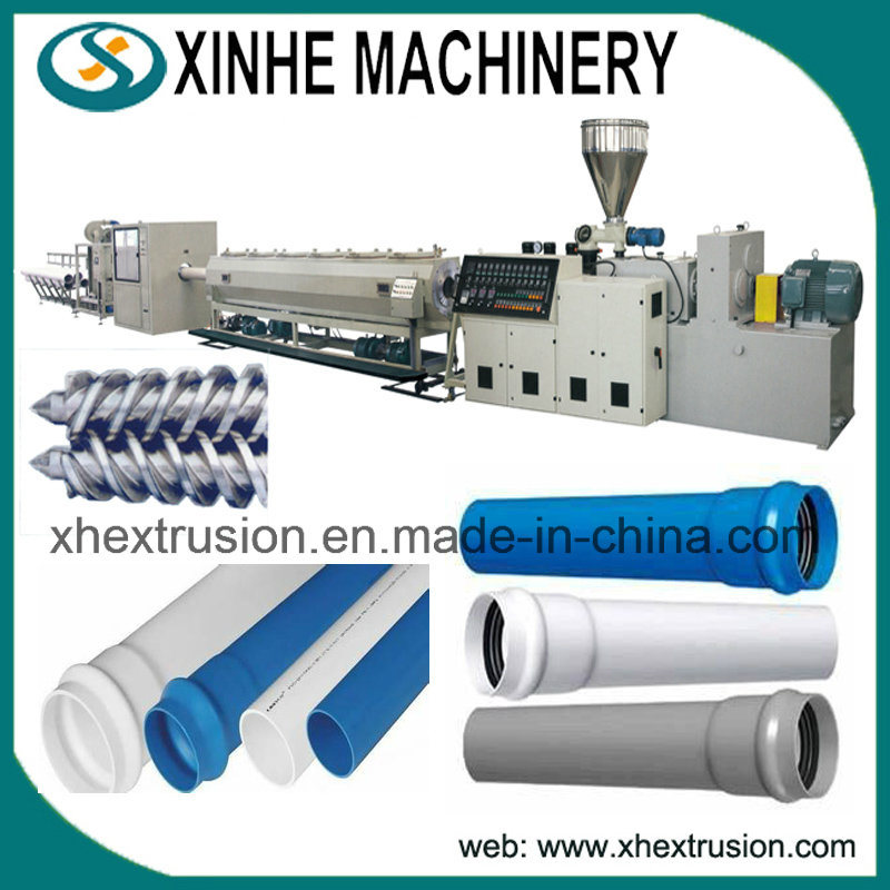 Quality Assurance of Plastic Extruder Machine for PVC Pipes