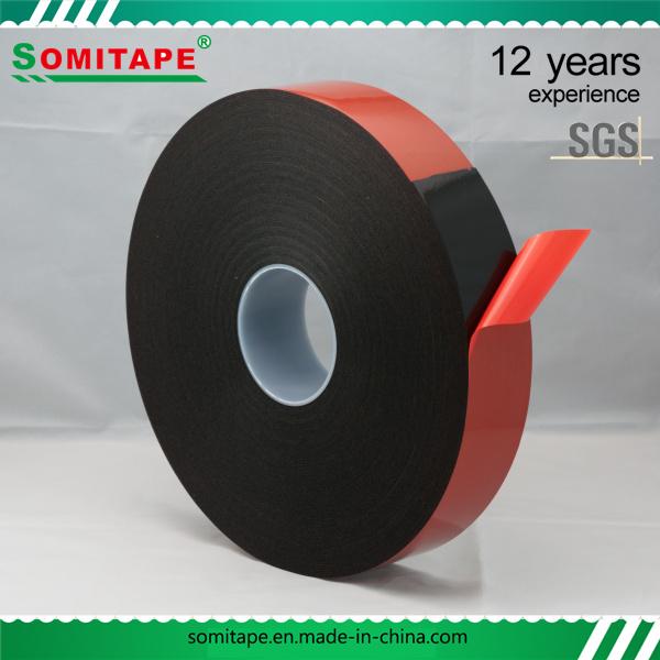 No-Residue PE Foam Double Sided Tape/Waterproof Foam Double Sided Adhesive Tape for Structural Glazing