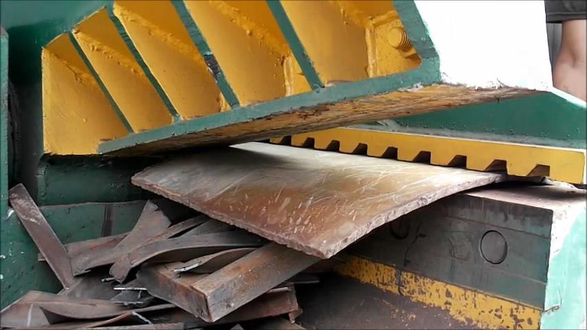 Q43-630 electric Scrap Defromed Steel Bar Shear