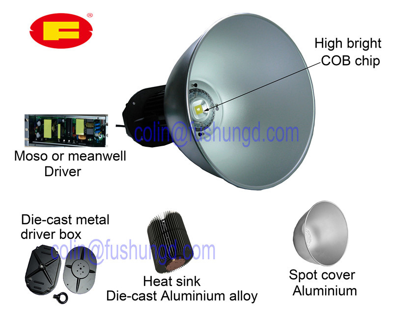 LED High Bay Lamp for Spot Ligthing