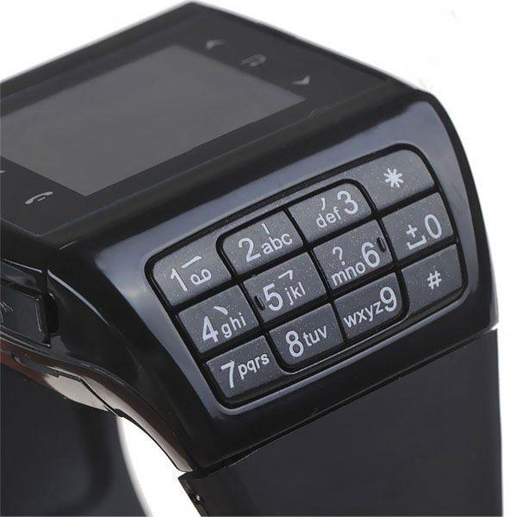 Gelbert Touch Screen Dual SIM Mobile Cell Phone Smart Watch Phone