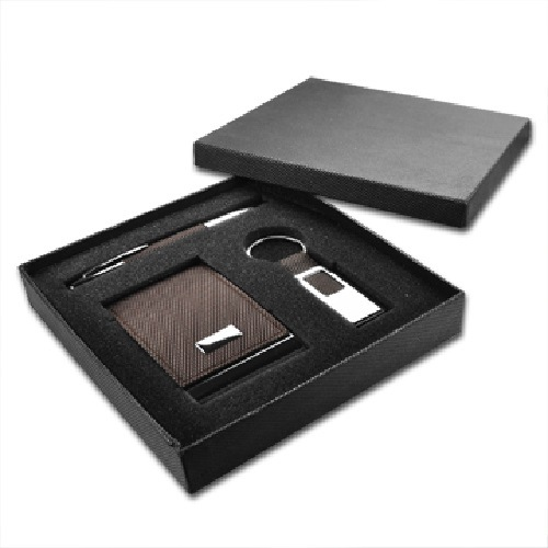 Personalize Business Card Case and Pen Gift Set