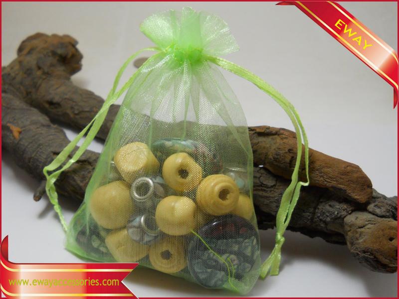 Customized Paper Velvet Organza Drawstring Packing Bag