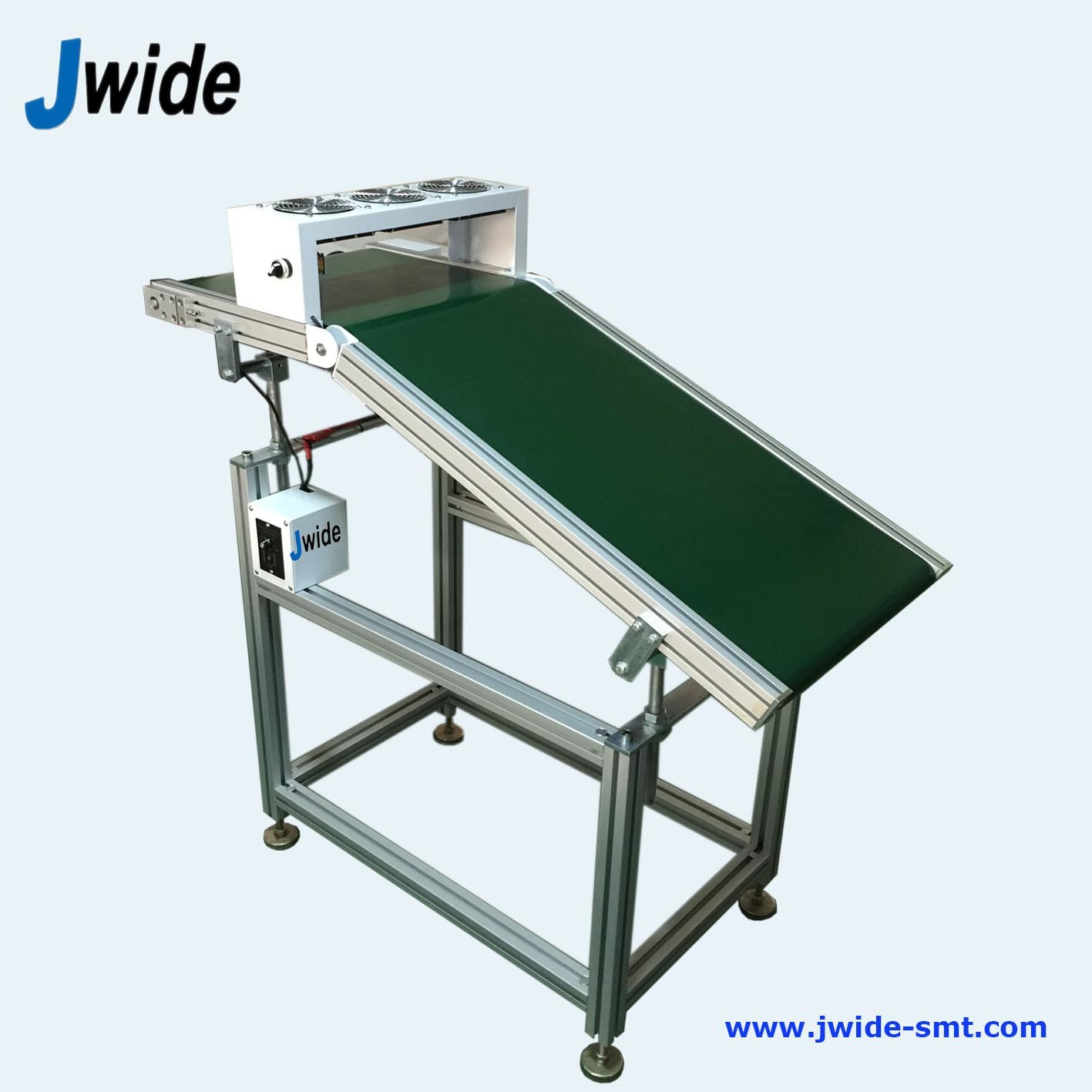 Wave Solder Outfeed Conveyor for Ai Assembly Line