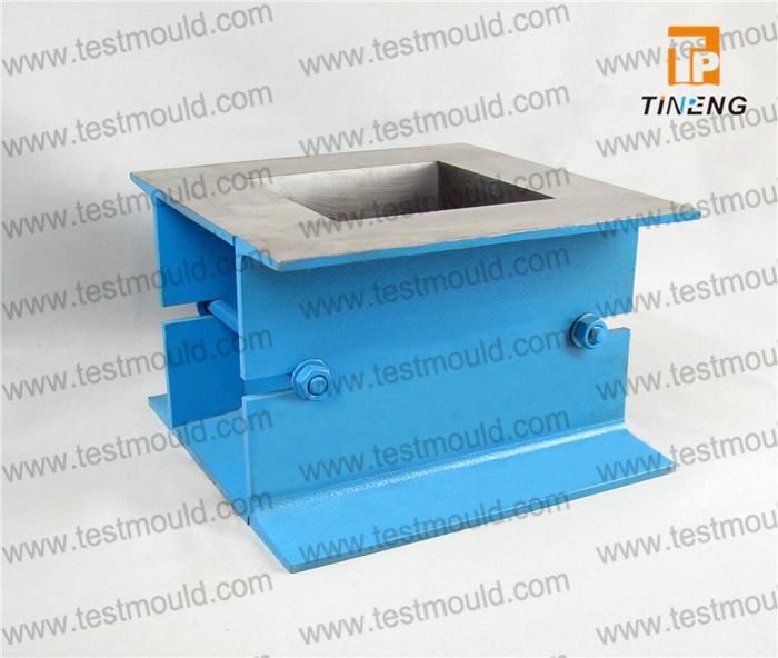Model Cm Cast Iron or Steel or Plastic Cube Mould for Concrete Test