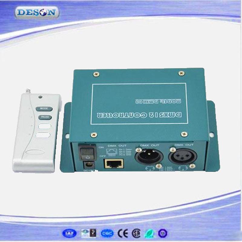 RF Remote Control DMX512 (1990) LED DMX Master Controller