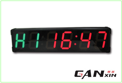 [Ganxin] Popular Design 8 Inch Programmable Digital LED Wall Clock