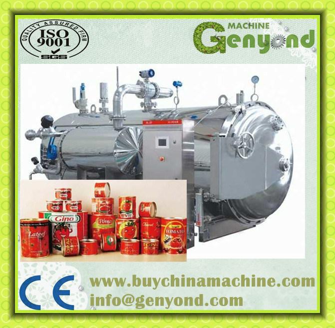 Steam Heating Hot Water Spray Type Sterilizer
