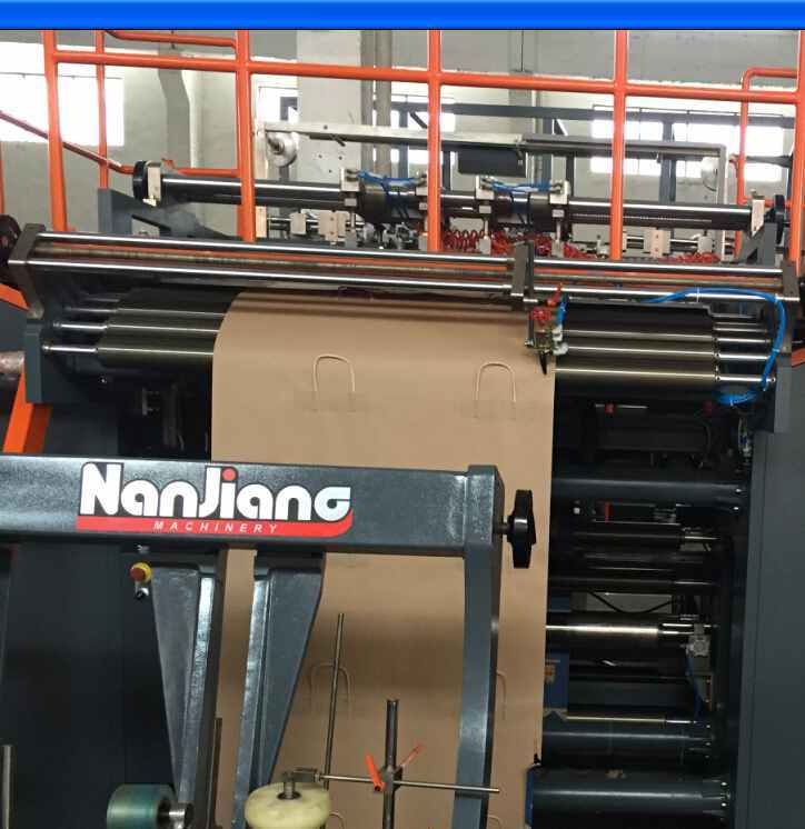 Roll Fed Fully Automatic Paper Bag Machine With Twist Handle (WFD430)