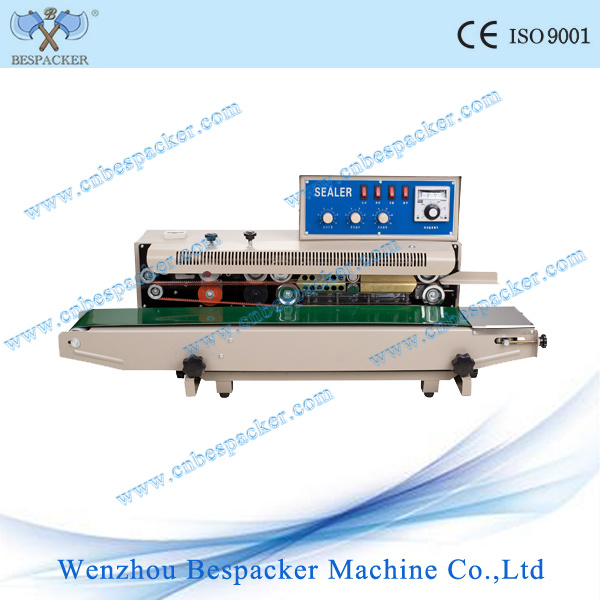 Continuous Potato Chips Bag Sealing Machine with Solid-Ink Coding