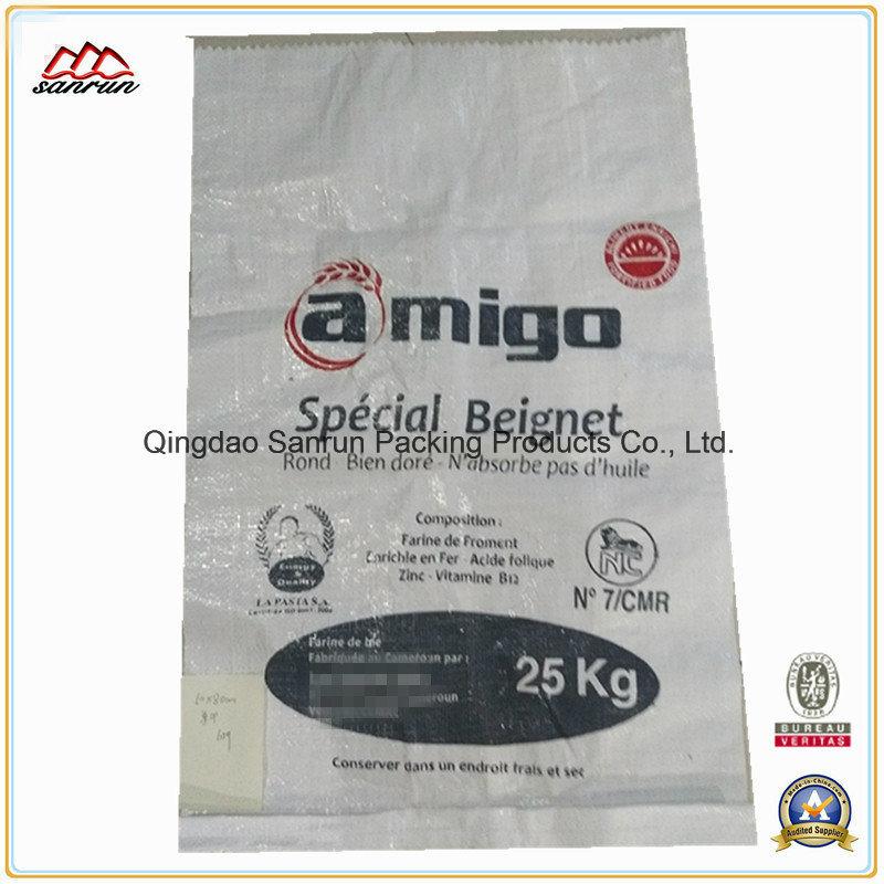 25kg Woven Polypropylene Bag for Packing Flour