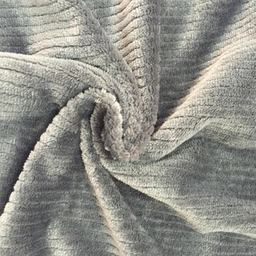 100% Polyester Vertical Jacquard Flannel Fleece
