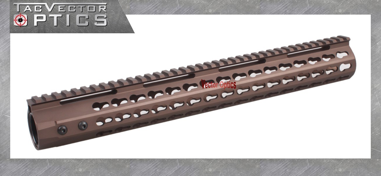 Vector Optics Gen III 7 10 12 15 Inch Free Float Rifle Slim Keymod Handguard Rail Mount